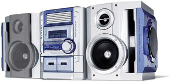 Sharp Cd Ba3100 200w 6 Disc Cd Changer Mini System